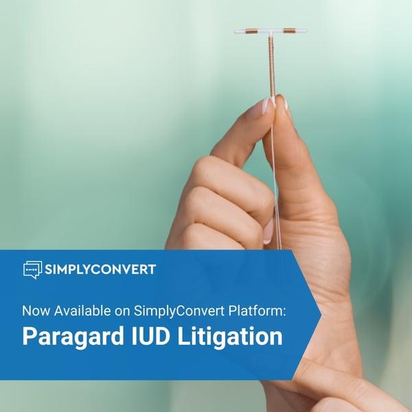 Paragard IUD Litigation