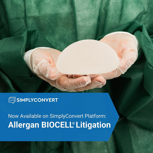 Allergan BIOCELL textured breast implant litigation