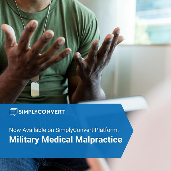 Military Medical Malpractice Claims