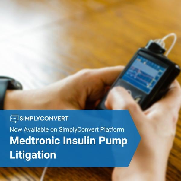 Medtronic Insulin Pump Litigation